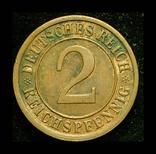 Германия 2 пфеннига 1936, фото №3