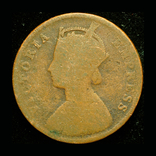 Британская Индия 1/4 анны 1891, фото №3