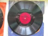 Пластинка патефонная 20см.В.Трошин-М.Бернес, фото №5