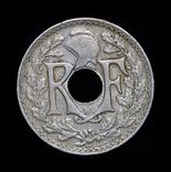 Франция 5 сантим 1920, фото №3