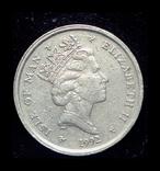 Остров Мэн 10 пенсов 1992, фото №3