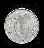 Ирландия 6 пенсов 1940, фото №2