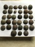 Пуговицы орленые-33 шт, фото №3
