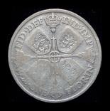 Великобритания флорин 1928 серебро, фото №2