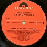 Agnetha Faltskog EX ABBA - Wrap Your Arms Around Me - 1983. Пластинка. Germany, фото №7