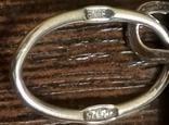 Подвес серебряный, серебро 925, фото №7
