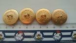 Пуговицы, генеральские, позолоченные, с гербом СССР, не ношенные, фото №4