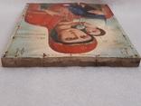 Икона Богородицы 29,5х22,5 см, фото №8