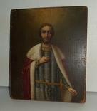 Икона Святой Благоверный князь Александр, фото №3