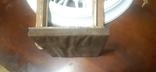 Икона в киоте св. Николай серебро позолота, фото №4