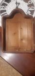 Икона в киоте св. Николай серебро позолота, фото №7