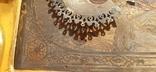 Икона в киоте св. Николай серебро позолота, фото №11