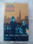 "Аудиокассета: The Rolling Stones ""English Learner's Digest"", 1997 г., фото №2"