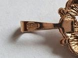 Советский кулон. Золото 583 проба., фото №7