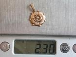 Советский кулон. Золото 583 проба., фото №9