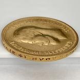 10 рублей. 1899. Николай II. (ФЗ) (золото 900, вес 8,58 г) (2.), фото №8