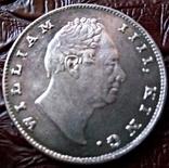 1 рупія 1835 року Індія -колонія Великої Британії, фото №3