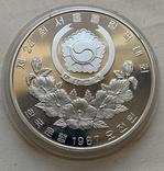 Монеты 5000 вон, 5 штук, серебро 925, вес 16,8 грамма, Олимпиада Сеул 1987 год, фото №8