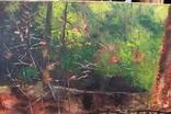 Горбатый мост и Усечённая колонна, холст, масло, 70х95 см. Алек Гросс., фото №3