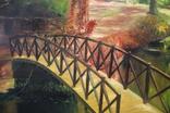 Горбатый мост и Усечённая колонна, холст, масло, 70х95 см. Алек Гросс., фото №7