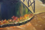 Горбатый мост и Усечённая колонна, холст, масло, 70х95 см. Алек Гросс., фото №8