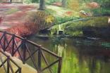 Горбатый мост и Усечённая колонна, холст, масло, 70х95 см. Алек Гросс., фото №10