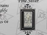 Слиток серебра США с сертификатом подлинности 999 проба 5 грамм., фото №3