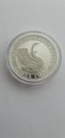 Серебрянная монета Лебедь Австралии 2020, фото №2