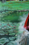 Дым над водой. Алек Гросс. 80х60 см. Холст, масло, фото №5