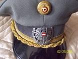 Фуражка генерала австрийская армия. раз. 56., фото №5