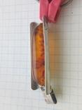 Кулон с янтарём, фото №3