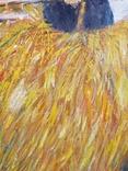 """Жанровая картина маслом """"Вечереет"""", 56*43см,стиль соцреализм, фото №5"""