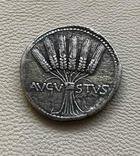 Римская Империя Август денарий, фото №3