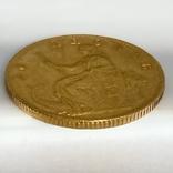 20 крон. 1873. Кристиан IX. Дания (золото 900, вес 8,97 г), фото №4