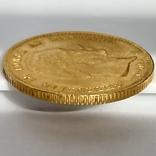 20 крон. 1873. Кристиан IX. Дания (золото 900, вес 8,97 г), фото №6