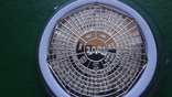 4000 квача 2000 Замбия Календарь серебро 999, фото №3