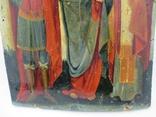 Редкая Икона трёх святых, фото №8