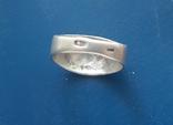 Перстень/кольцо серебро 875, фото №4