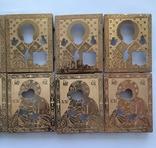 Оклады для икон латунные 10 шт, фото №4