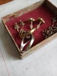 Изделия серебро. 925 пр. Вес 11.52 грамма., фото №11