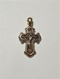 Золотой крестик 585 пробы, фото №6