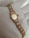 Золотые часы Gold Line 17 Jewels 585 проба, фото №3