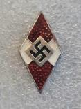 Гитлерюгент знак-накладка. 3 Рейх Германия. Копия, фото №3