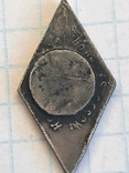 Гитлерюгент знак-накладка. 3 Рейх Германия. Копия, фото №8