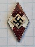 Гитлерюгент знак-накладка. 3 Рейх Германия. Копия, фото №2