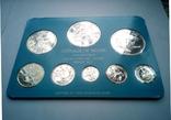 Белиз годовой набор 1975 года - серебро 925 пр. ПРУФ, фото №5