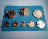 Белиз годовой набор 1975 года - серебро 925 пр. ПРУФ, фото №7