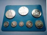Белиз годовой набор 1975 года - серебро 925 пр. ПРУФ, фото №8