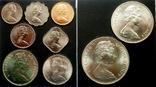 Багамы набор монет 1969 года, фото №3