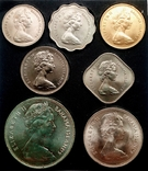 Багамы набор монет 1969 года, фото №10